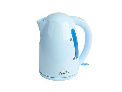 Чайник DELTA DL-1302 (2200Вт, 1,7л, диск)   голубой