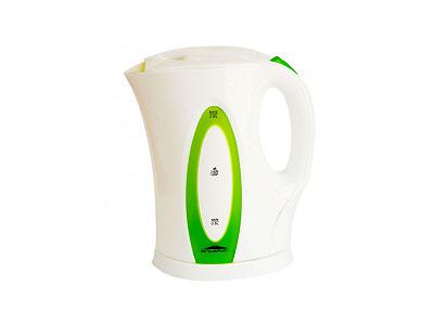 Чайник Эльбрус-4 (2200Вт, 2,0л)  белый с зеленым