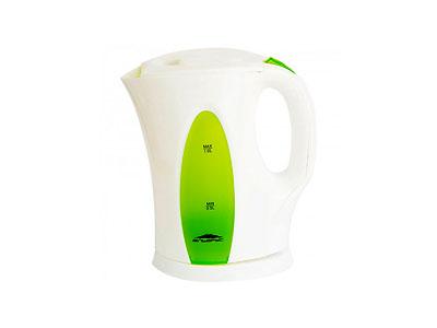 Чайник Эльбрус-3 (2200Вт, 1,0л)  белый с зеленым