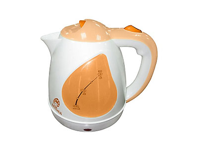 Чайник Василиса Т1-1500 (1500Вт, 1,5л, диск) белый с персиковым