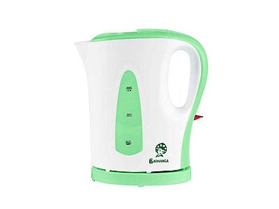 Чайник Василиса Т19-1200(1200Вт 1,0л) белый с зеленым