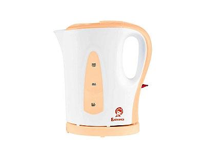 Чайник Василиса Т20-1200(1200Вт 1,0л) белый с персиковым