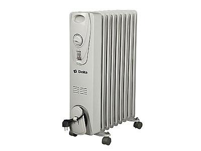 Радиатор масляный Дельта D25-9 2,0кВт 9 секций