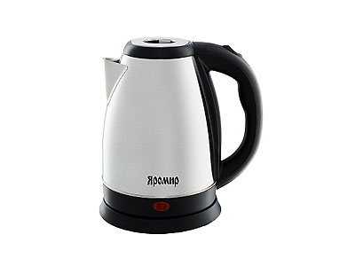 Чайник Яромир-1005 (2000Вт 1,8л, диск)     нерж