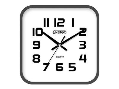 Часы настенные ENERGY EC-08 квадратные