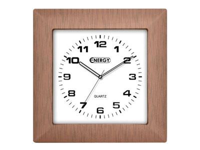 Часы настенные ENERGY EC-14 квадратные