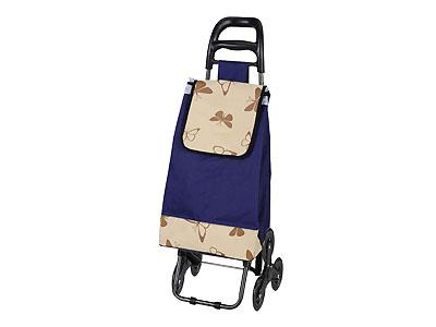 """Тележка с сумкой A204 """"Бабочки"""", 30 кг"""