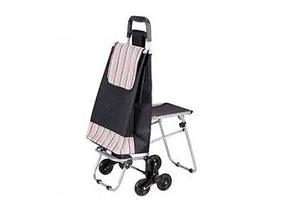 Тележка с сумкой и сиденьем C302-1, 50кг