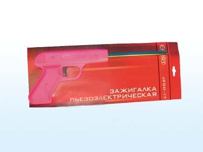 Пьезозажигалка JZDD-17-R красная