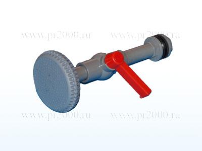 Лейка душевая с краном (для водонагревателей-душей)