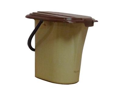 Ведро-туалет пластиковое 19л