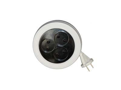Удлинитель РС-4-6-5м (3х5м, рулетка,евро)